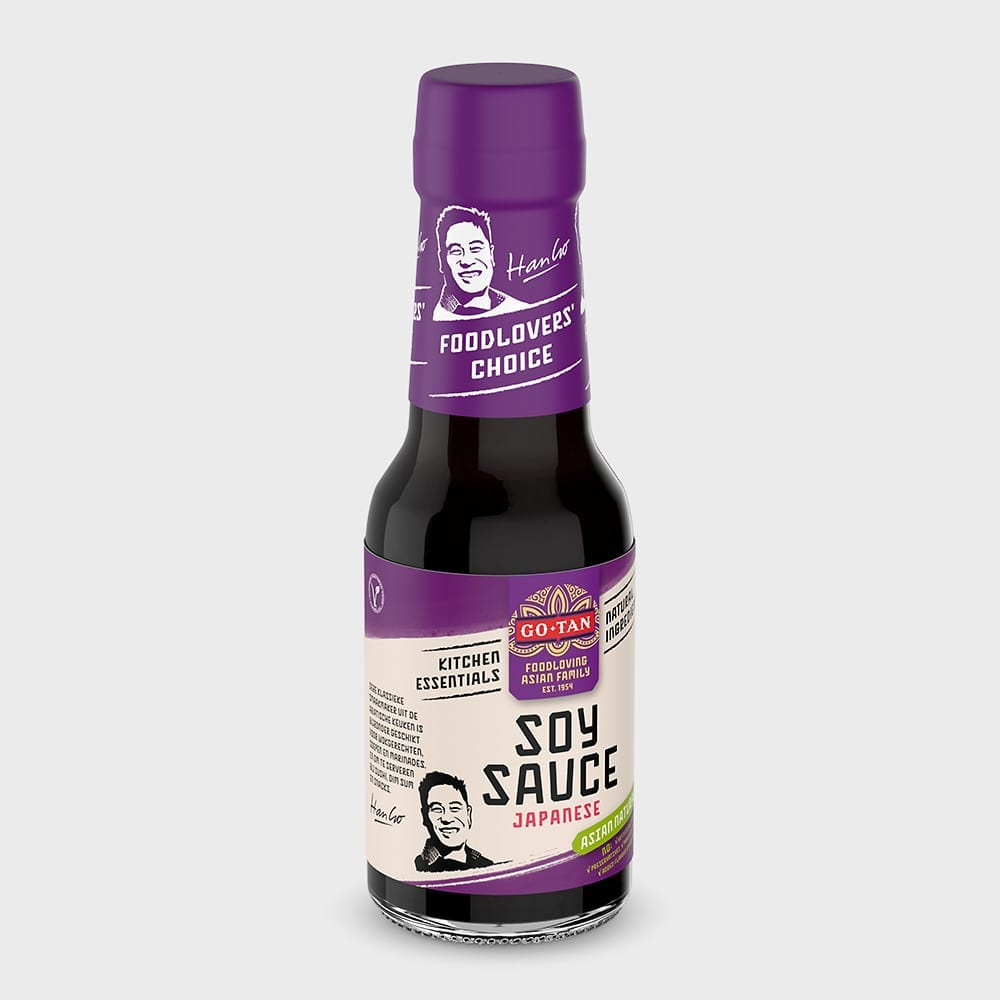 Go-Tan Soy Sauce packshot